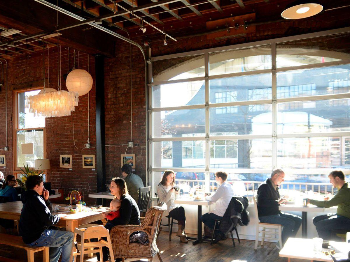 Outstanding Portland Coffee Shops With Free Wi Fi Eater Portland