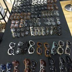Sample eyewear, $35 per pair