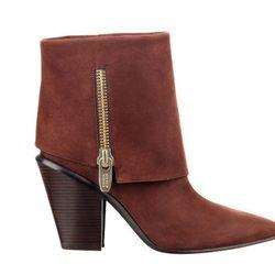 "<b>Sigerson Morrison</b> Isle boots in brown nubuck, <a href=""http://www.sigersonmorrison.com/ILSE-p-19946-s-64138-col-256-cat.html#.Ujc-YGTXg0M"">$595</a>"