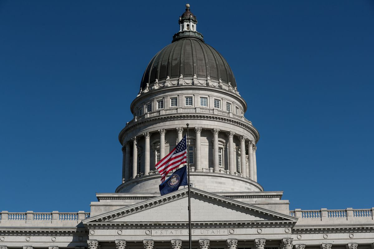 The Capitol in Salt Lake City is pictured on Thursday, Feb. 13, 2020.