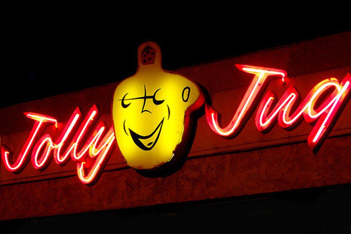 Jolly Jug liquor, El Monte.