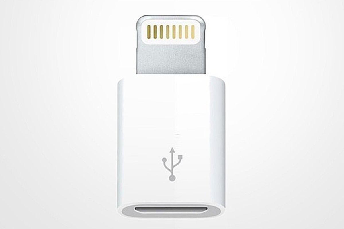 apple lightning micro usb adapter