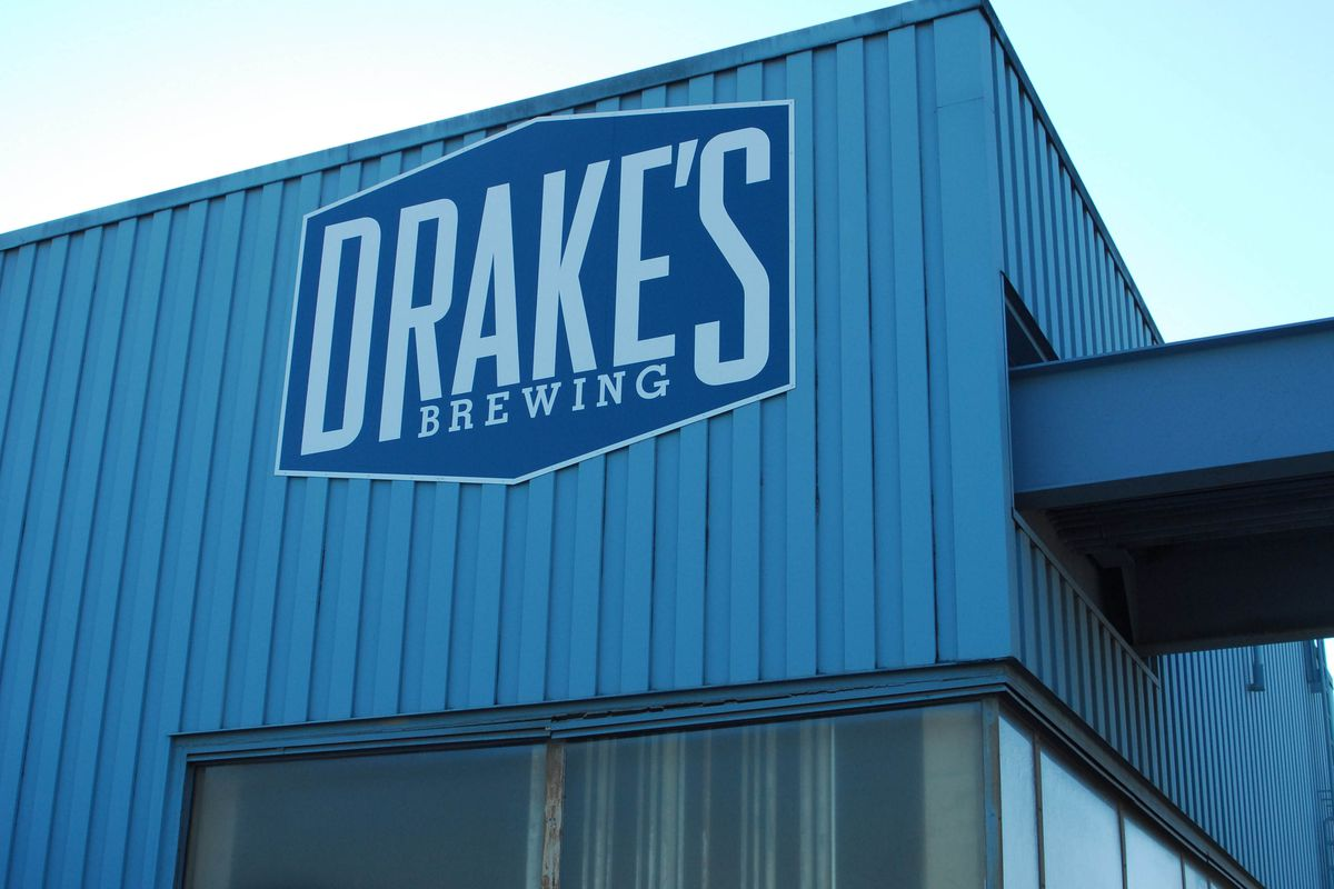 The Drake's brewery in San Leandro.