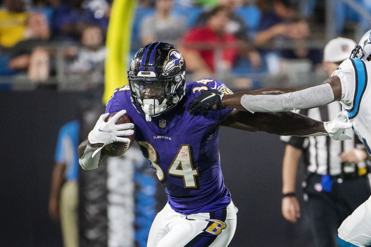 Ty'son Williams news: Ravens RB's performance in Week 3 of 2021 NFL  preseason - DraftKings Nation