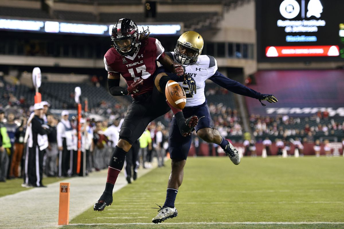 NCAA Football: Navy at Temple
