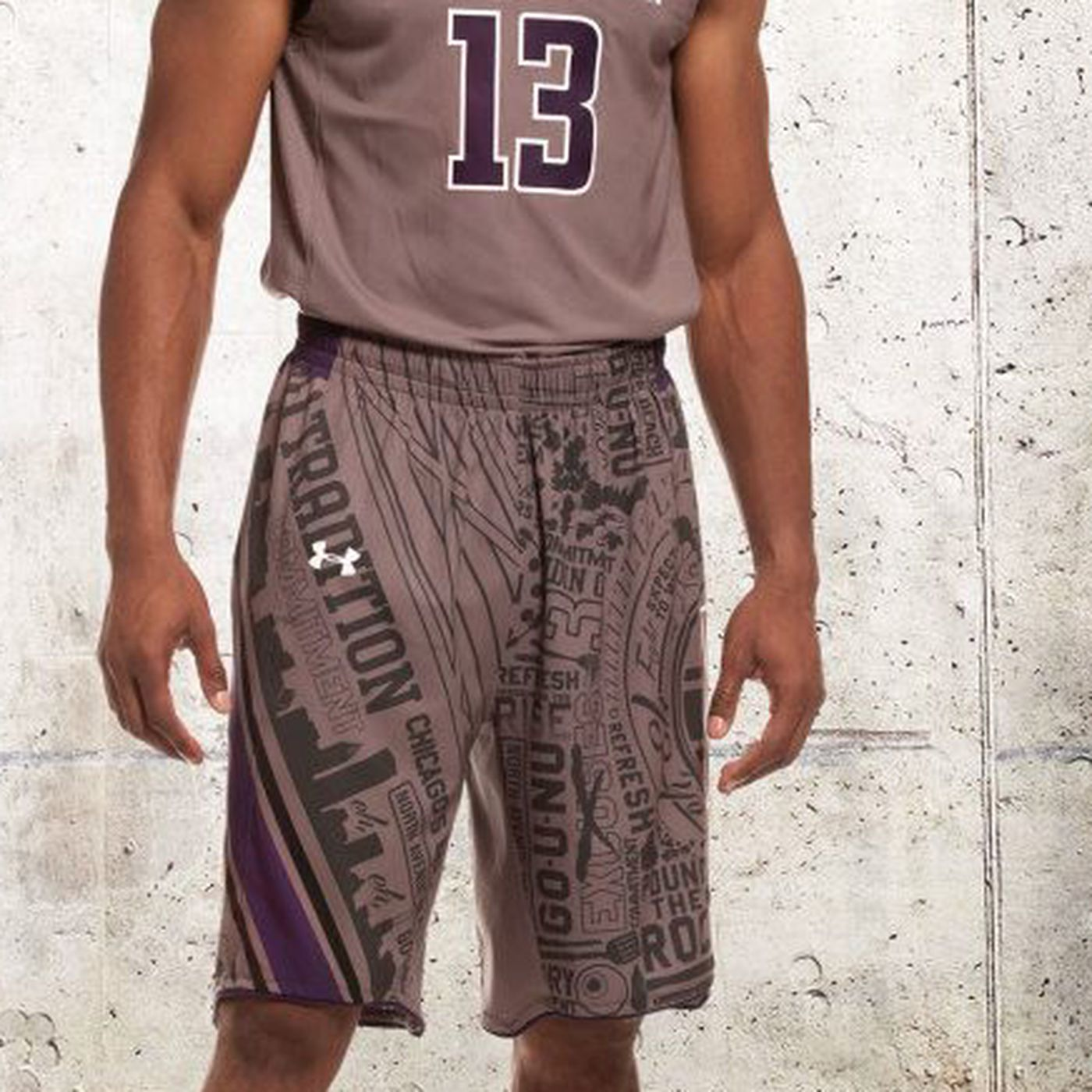 sneakers for cheap 9886d 66eb2 Northwestern basketball wearing special uniforms vs ...