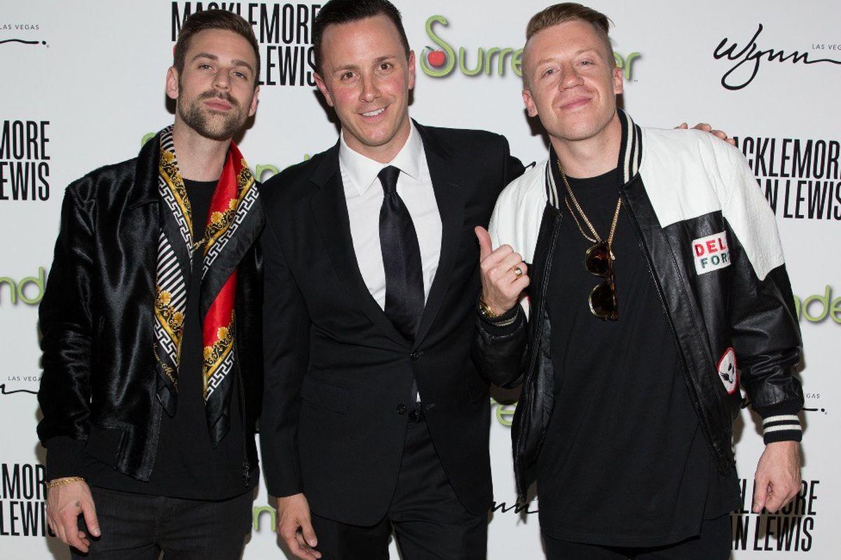 Ryan Lewis, Sean Christie and Macklemore