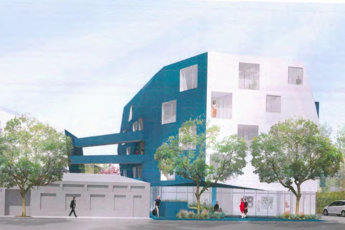 Rendering of proposed project