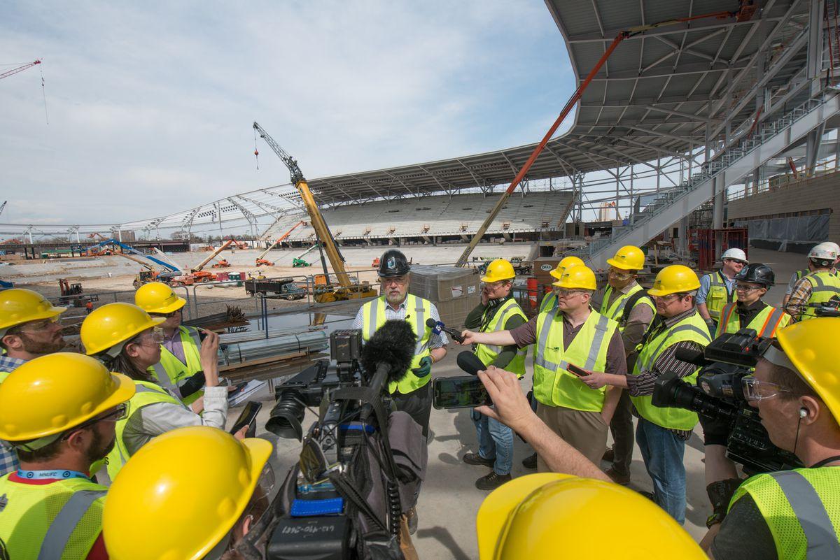 Allianz Field Construction
