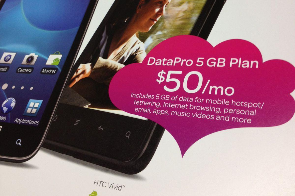 AT&T $50 5GB plan