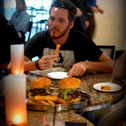 Mendelsohn was a big fan of the Blue Duck Tavern fries.