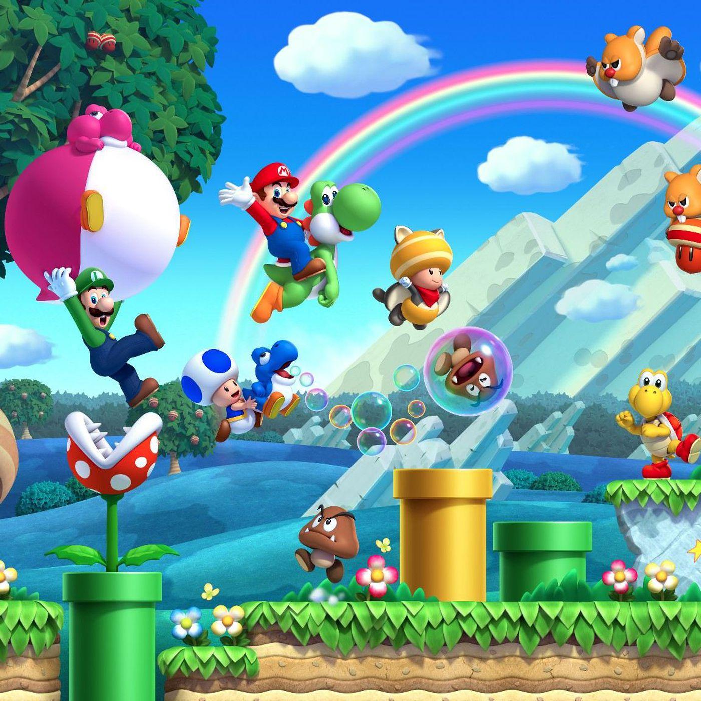 New Super Mario Bros U Review New Tricks Polygon
