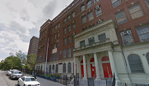 The six-story building on the corner of St. Paul's Place and Park Avenue in Claremont Village is shared by P.S. 55 and Success Academy Bronx 2.