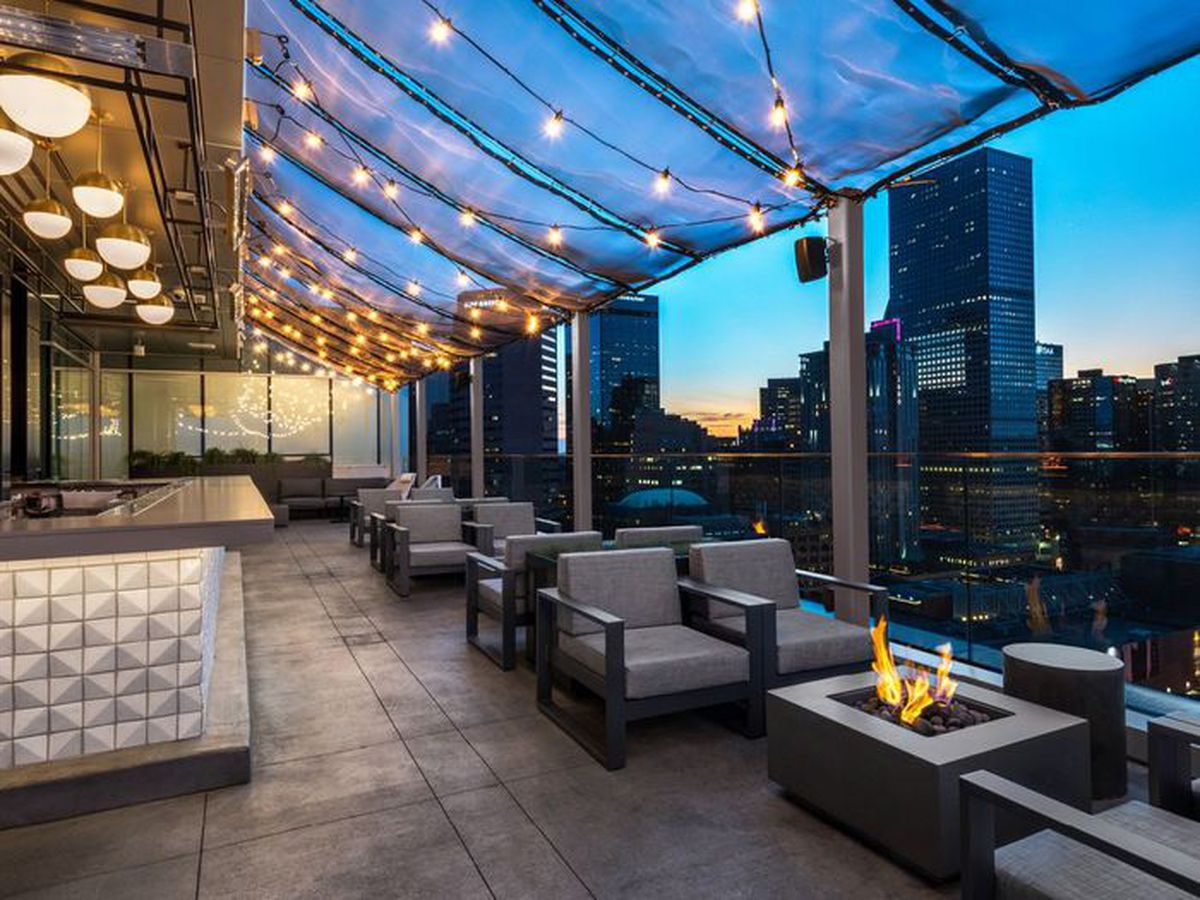 Rooftop Restaurants Downtown Detroit