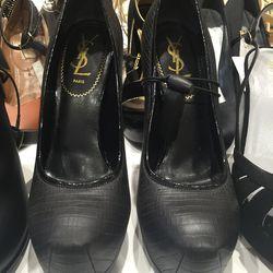 YSL heels, $75