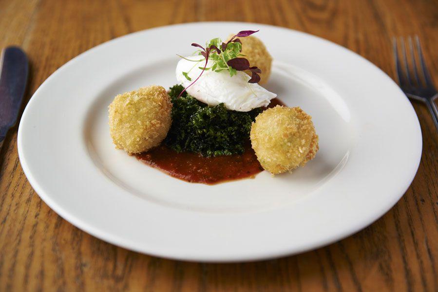 Best pub grub in London: croquettes at Westow House pub