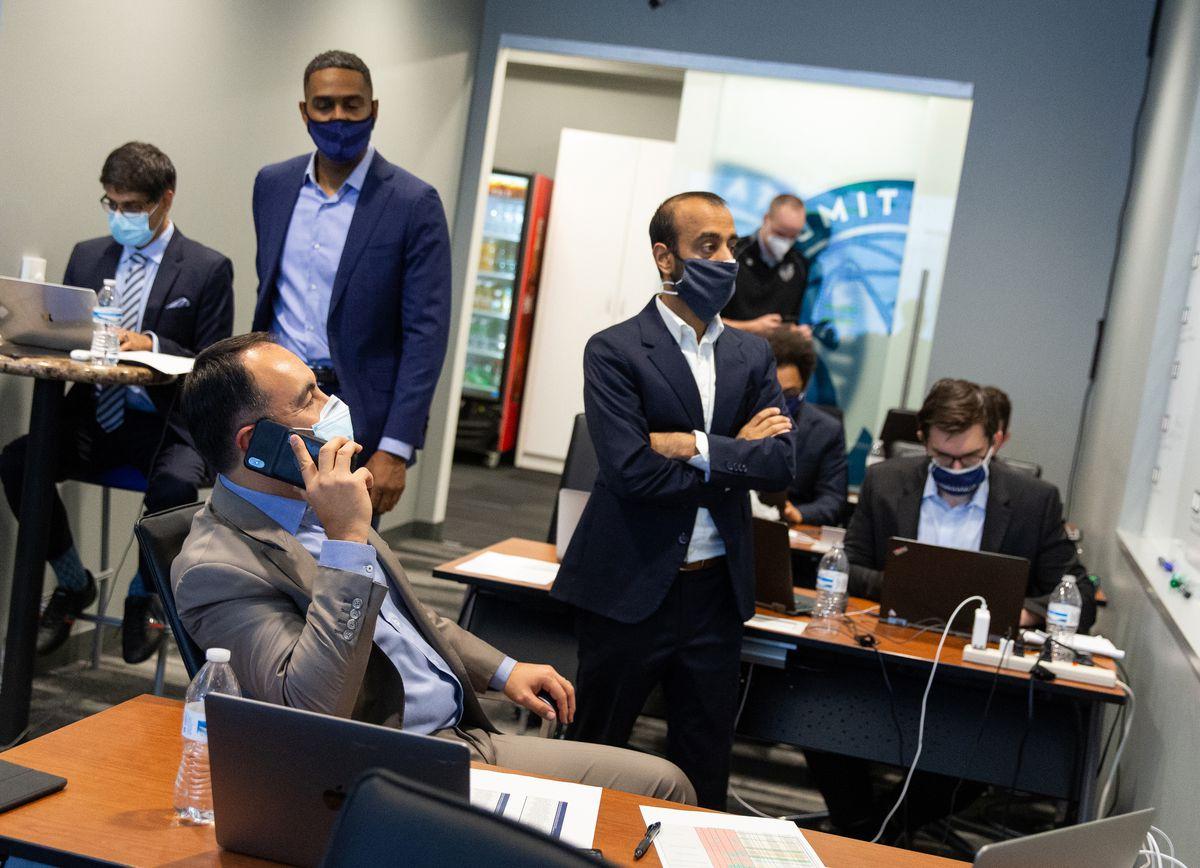 2020 NBA Draft Minnesota Timberwolves Team Operations Room