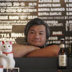 Shion Aikawa, Director of Operations, Ramen Tatsu-Ya, Austin, TX. [Photo: Andrea Grimes/EATX]