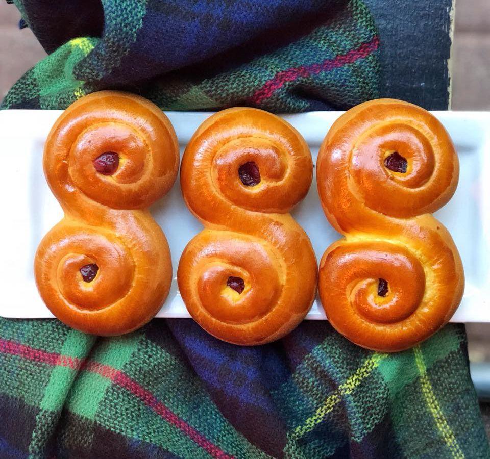 Easy Tiger's Swedish saffron buns