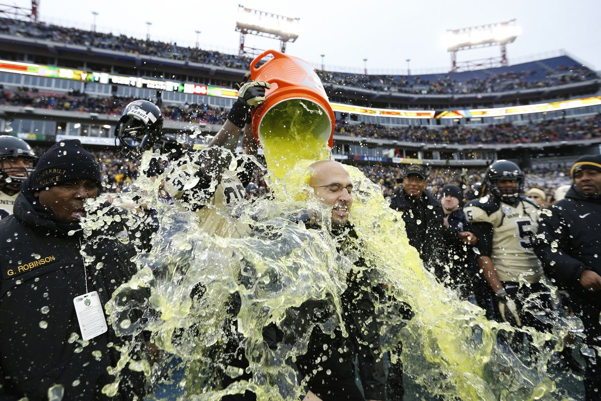 James Franklin can thank Mike Glennon and the turnover-prone Pack for that refreshing Gatorade bath.