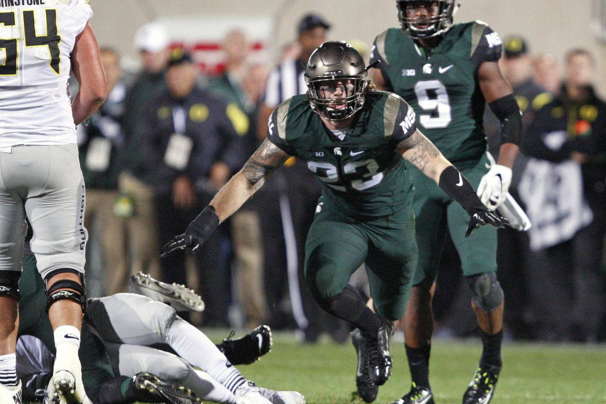 Michigan State held off Oregon to nab a win in the season's first top-10 matchup.