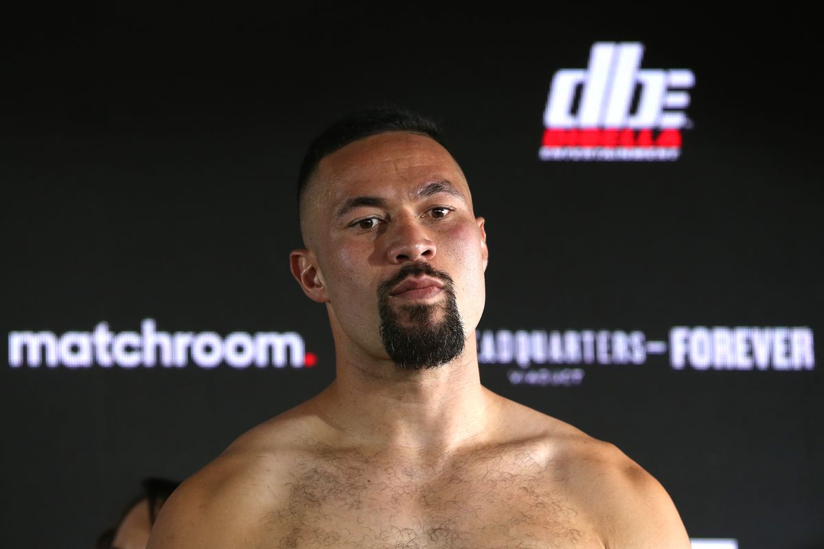 Joseph Parker v Joshua Fa - Official Weigh In