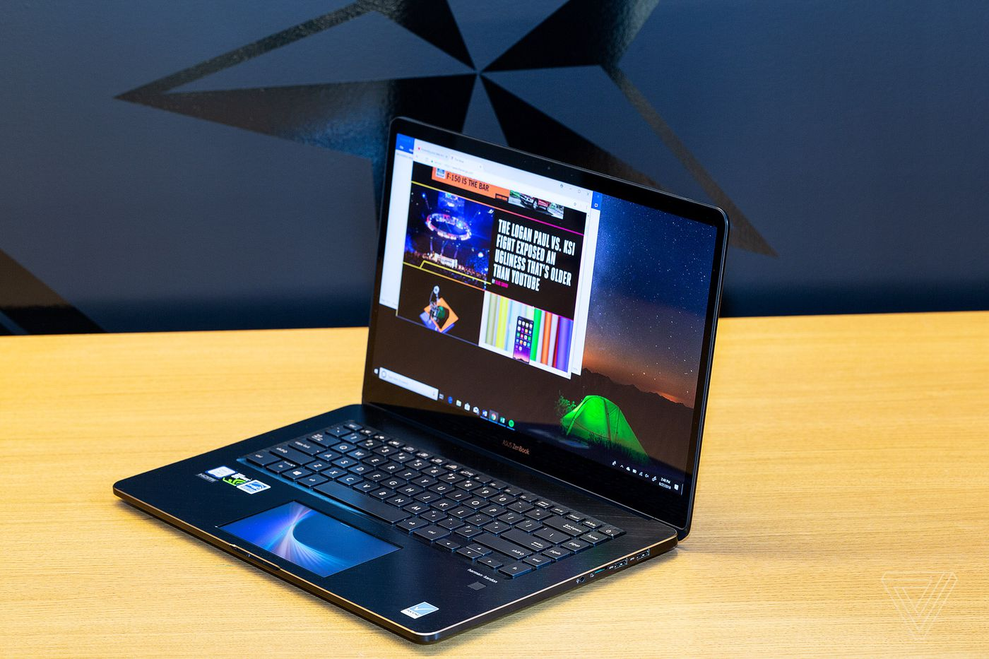 Asus ZenBook Pro 15 review: a screen in the trackpad works