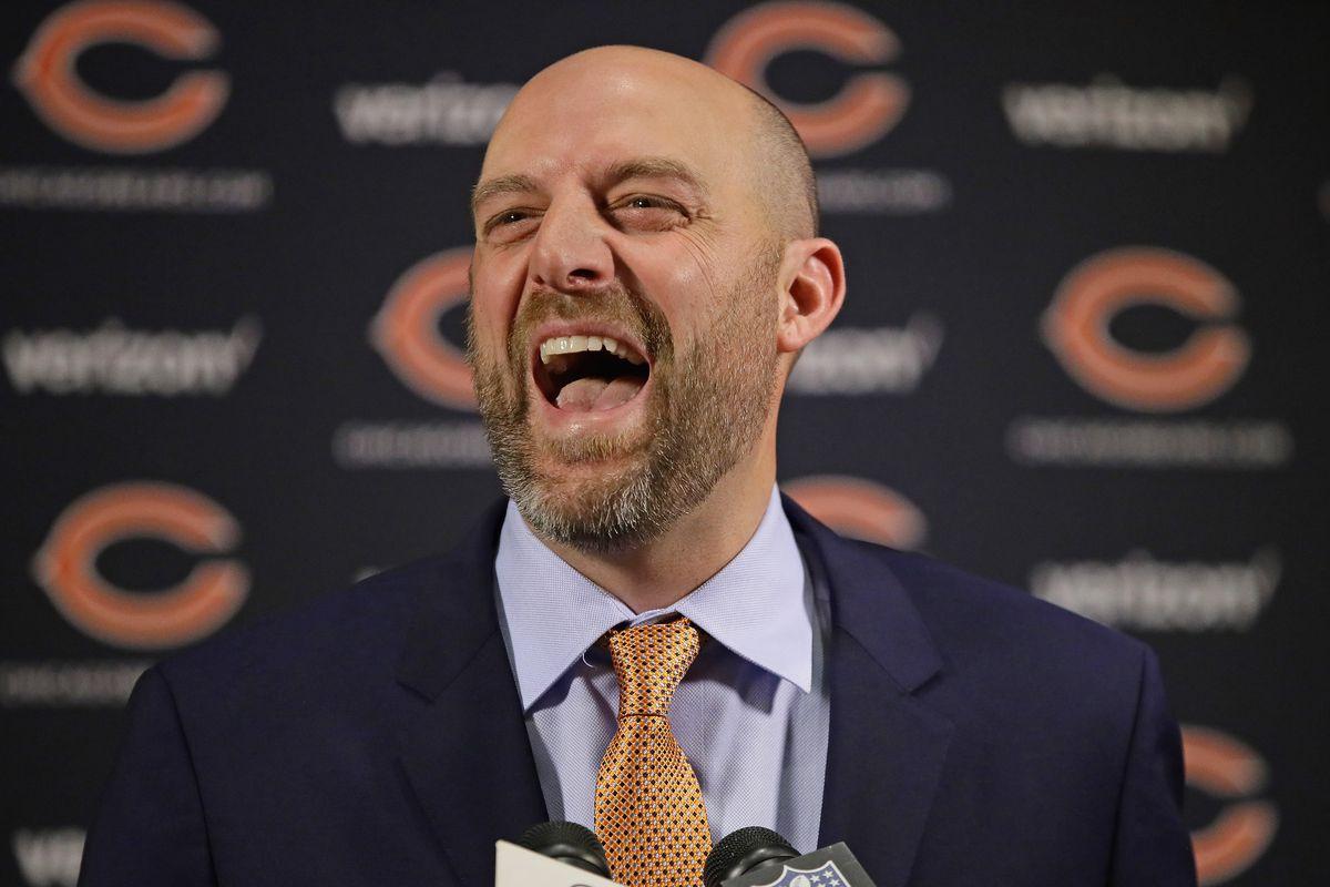 Chicago Bears Introduce Matt Nagy