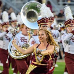 More great work from the Florida State Marching Chiefs.