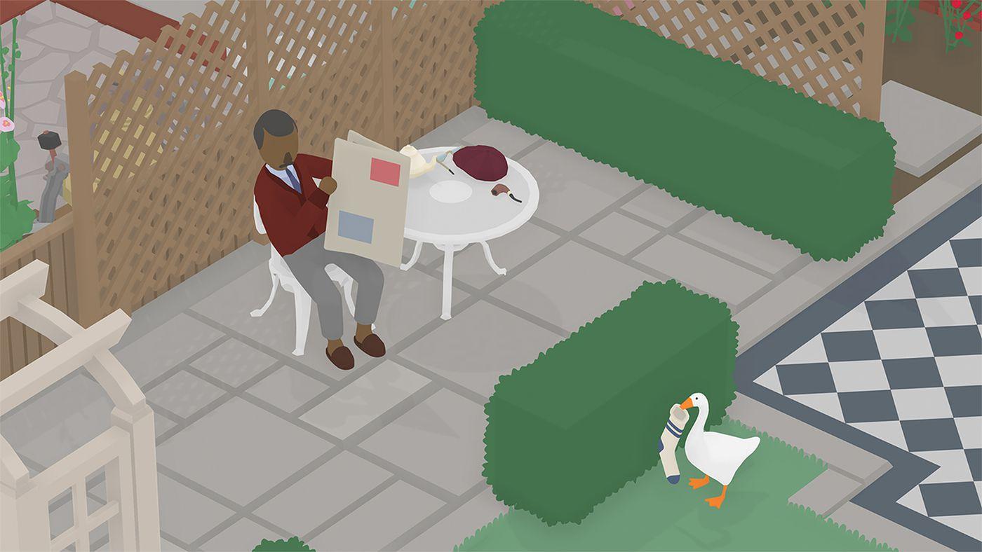 Untitled Goose Game The Back Gardens To Do List Guide Polygon Backyard garden escape walkthrough
