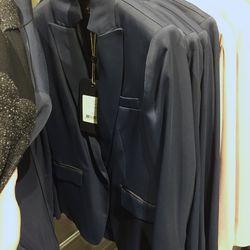 Dark navy Roseberg blazer, $200