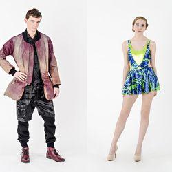 Left Designers: Andrew Berul, Morgan Hill; Photographer: Yoshioka / Right Designer: Lauren Dewey; Photographer: Yoshioka