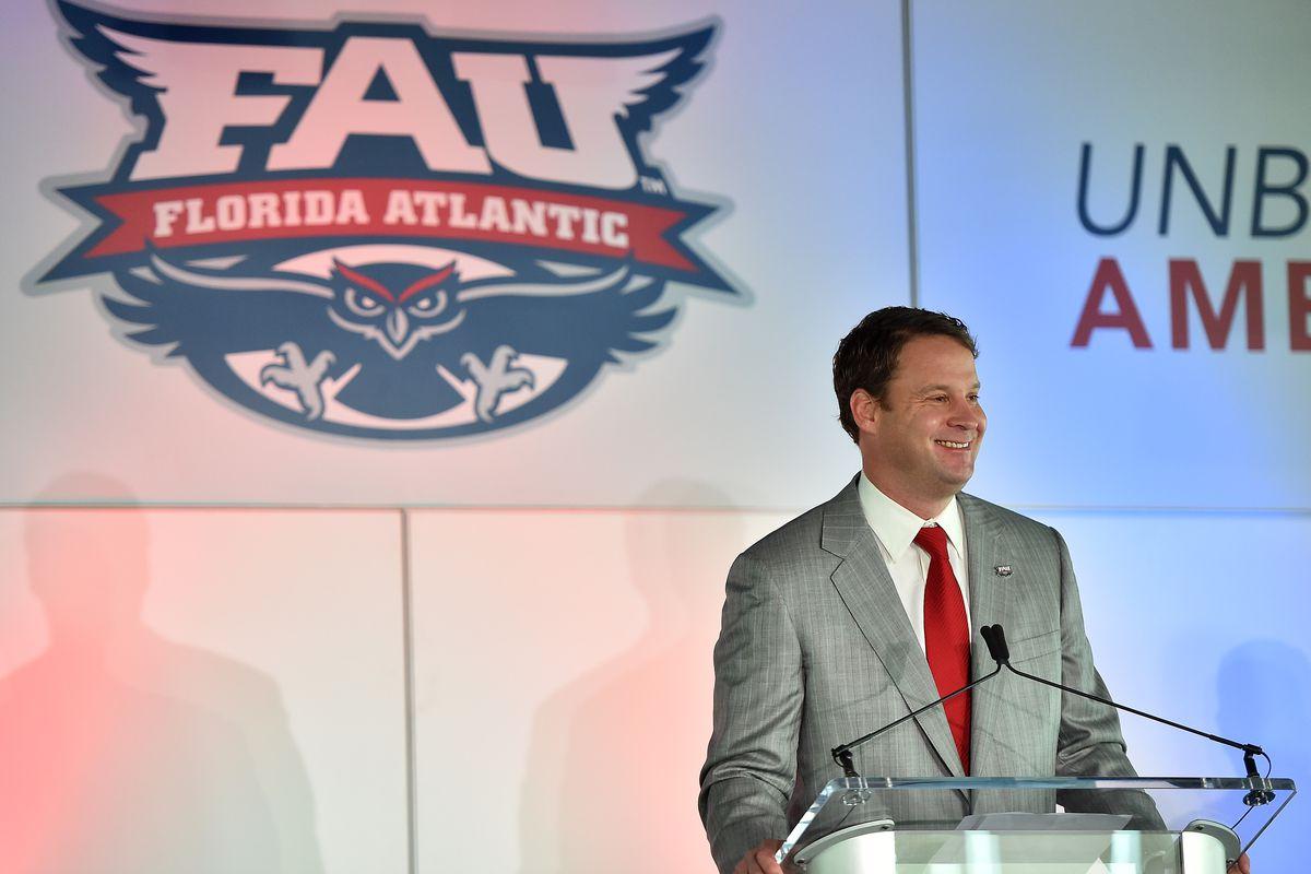 NCAA Football: FAU Press Conference