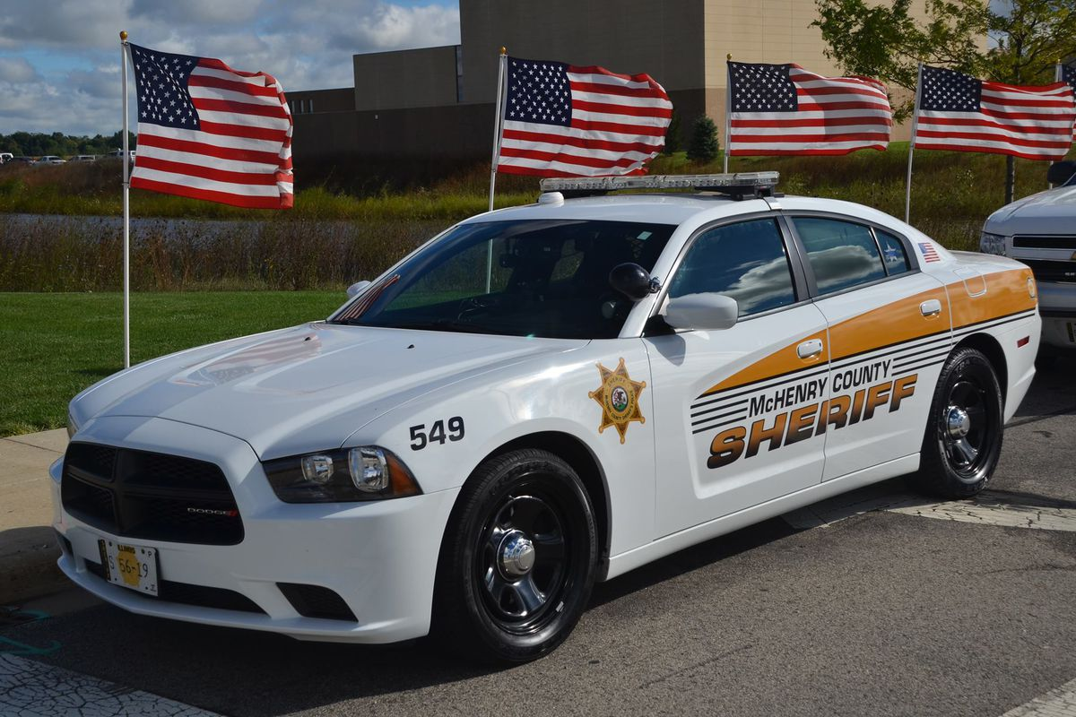 McHenry County sheriff's office squad car.
