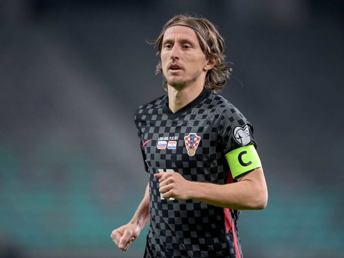 Luka Modric becomes Croatia's most capped player. - Managing Madrid