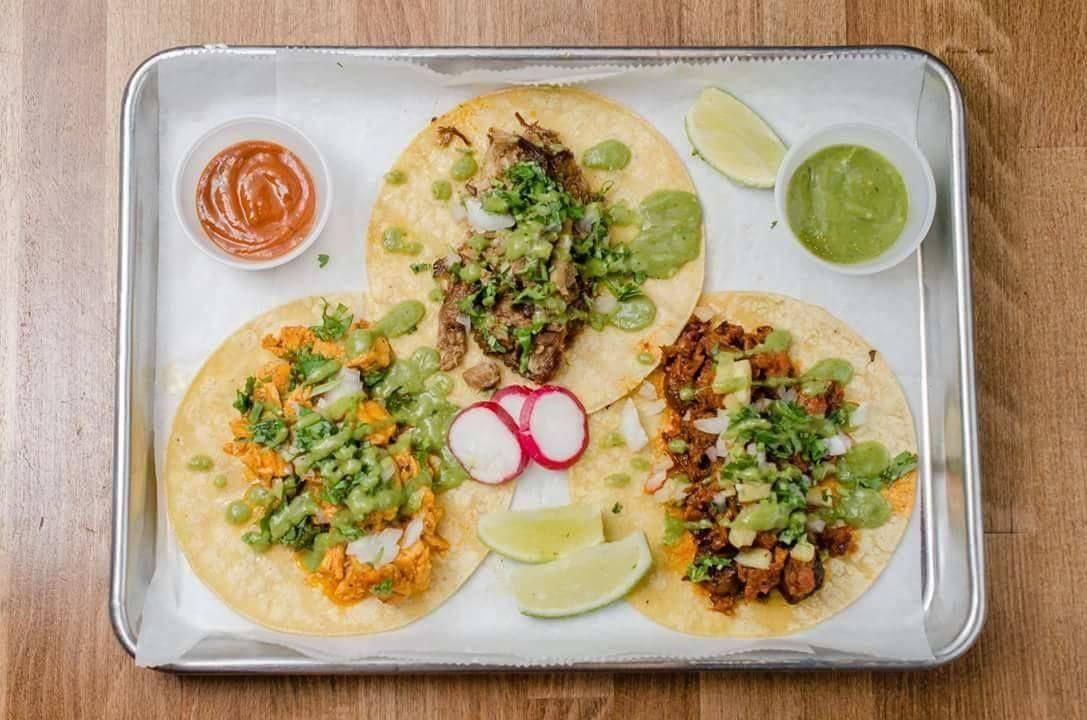 La Victoria Taqueria tacos