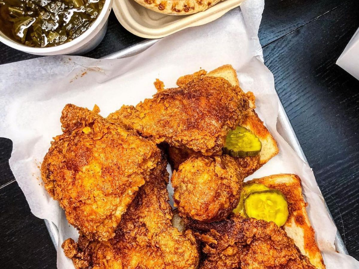 The hot chicken picnic meal from Tumble 22