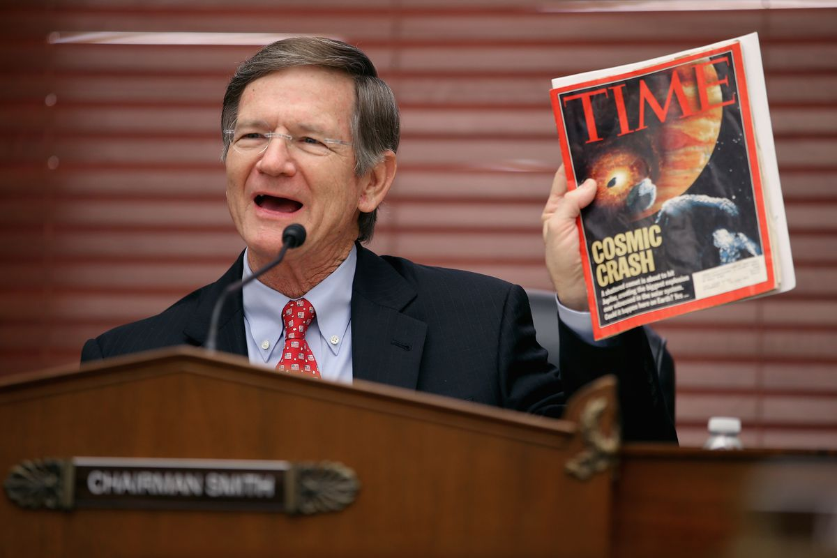 House Science, Space and Technology Committee Chairman Lamar Smith (R-TX) is not a huge fan of social science.