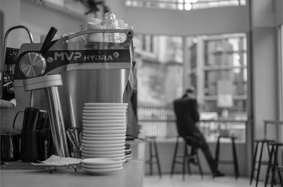 Rosslyn Coffee in the City, one of London's best coffee shops