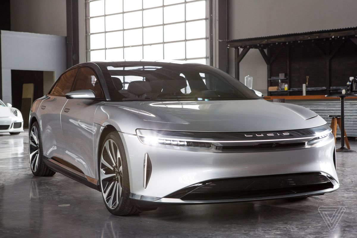Lucid Motors claims its all-electric Air sedan will have a ...