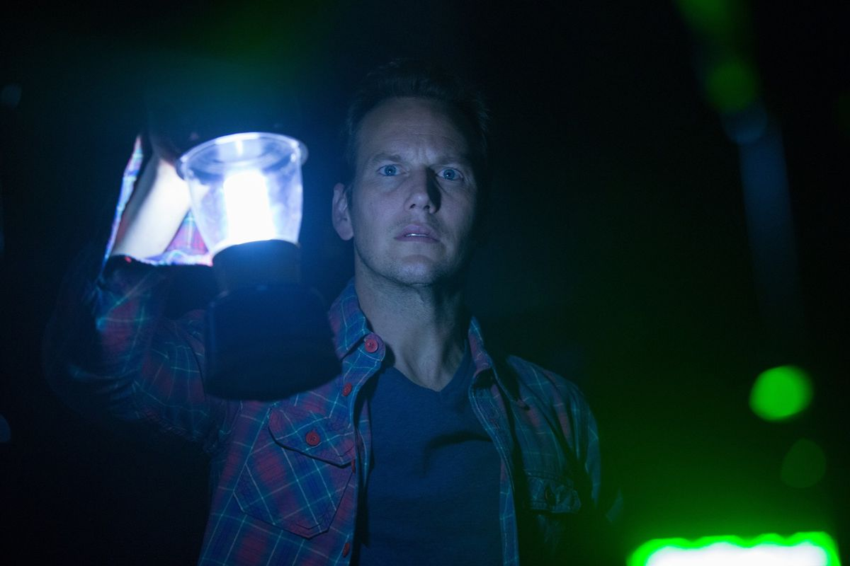 Joe heads into the Further in Insidious.