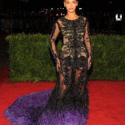 Beyoncé in Givenchy Haute Couture in 2012.