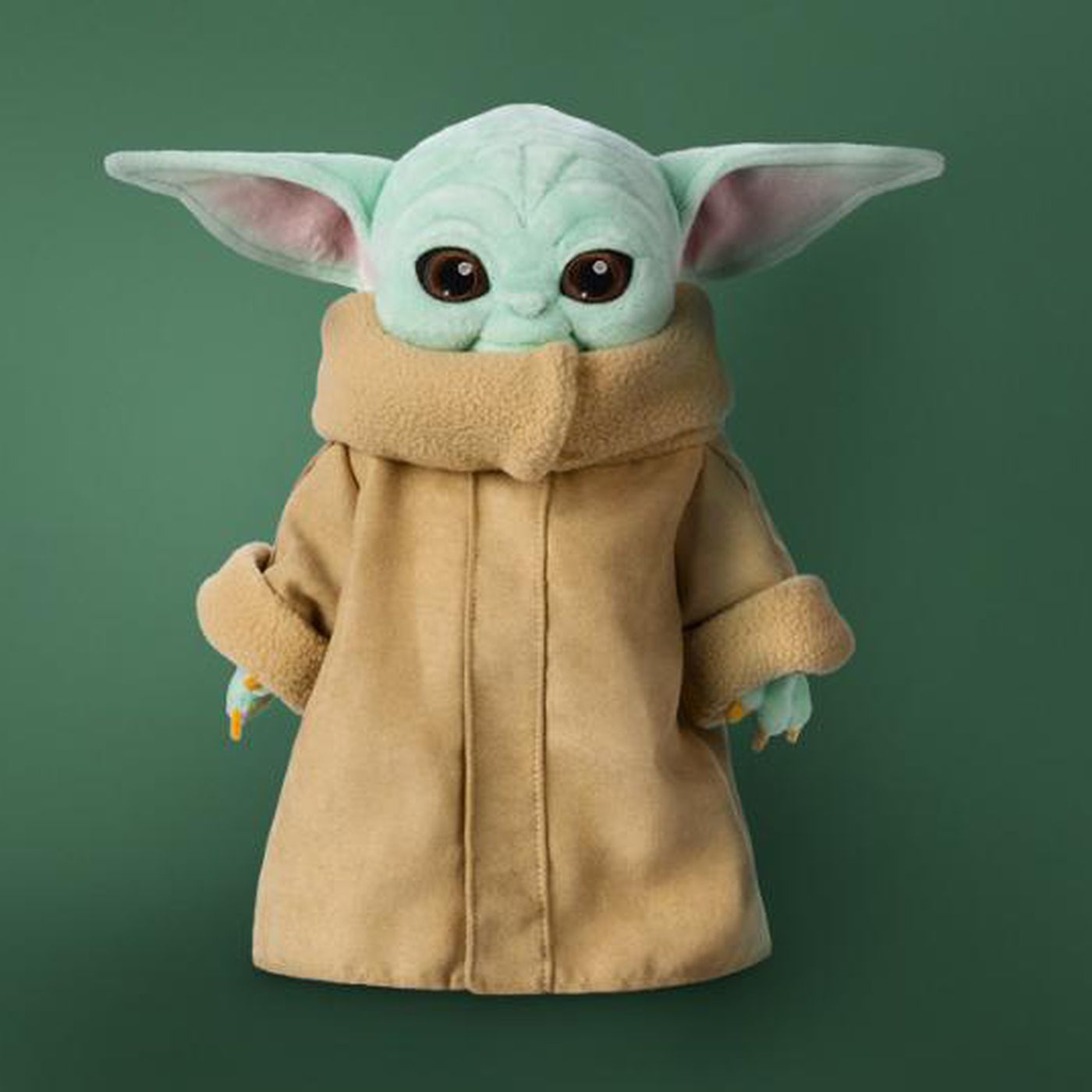 Disney Is Selling A Baby Yoda Plush But It Won T Arrive Until March 2020 The Verge