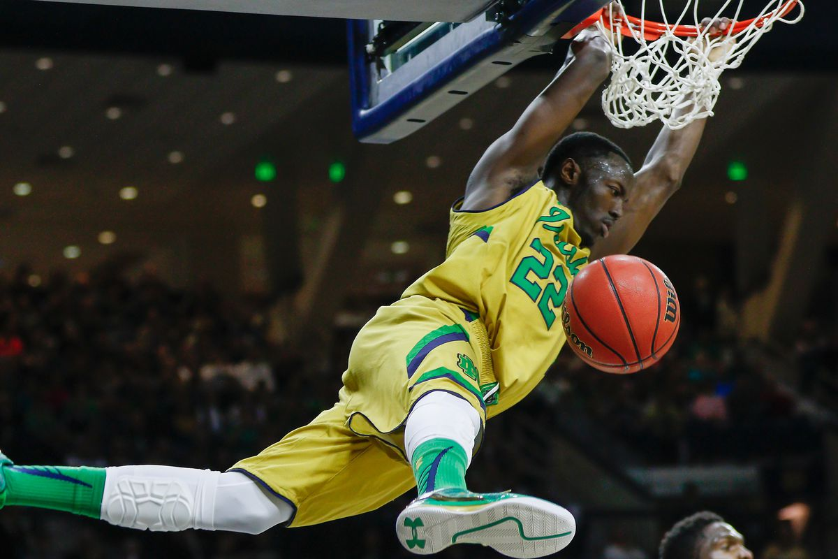 And this wasn't even close to his best dunk on the season