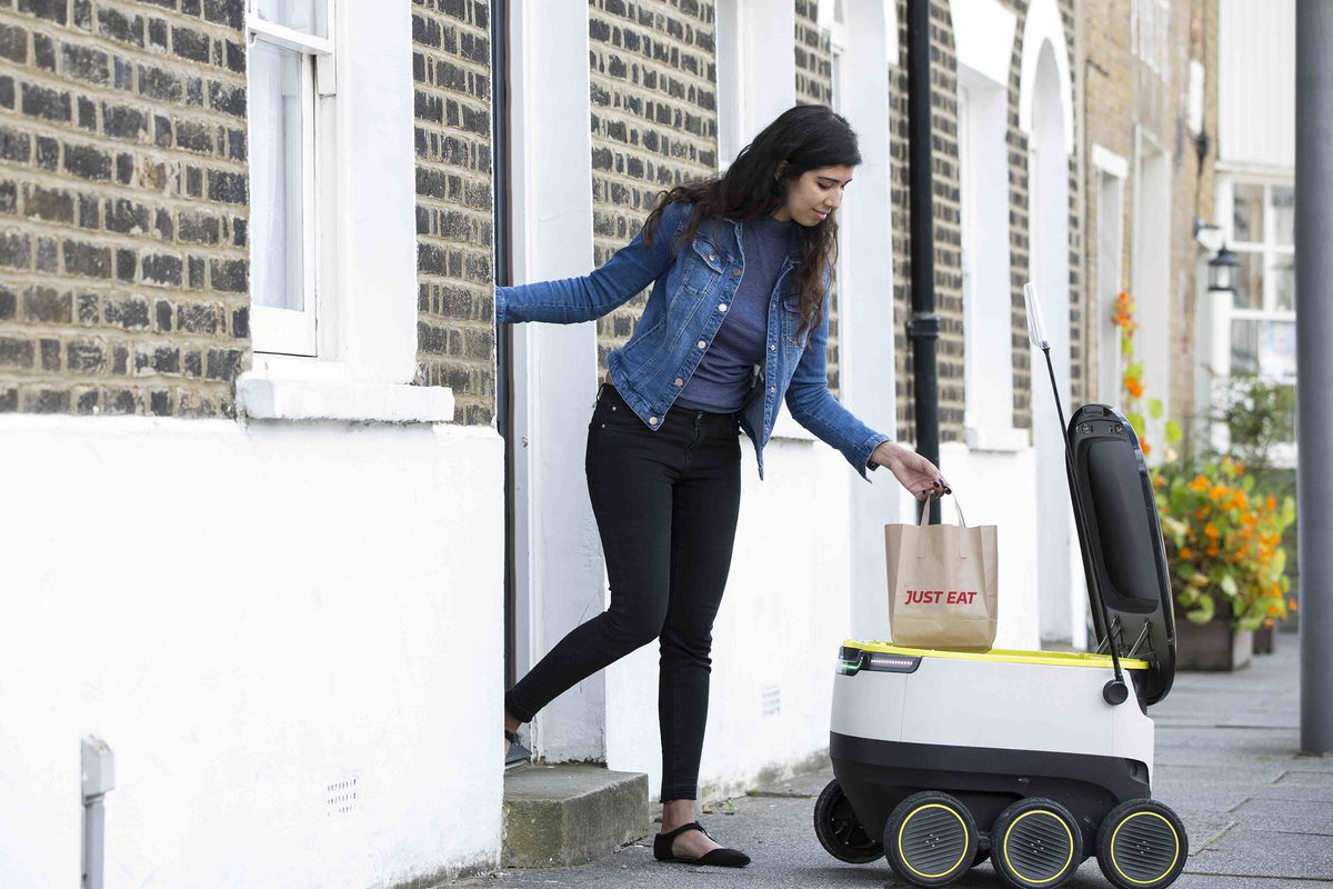 A robot-delivery startup helped write state laws that are locking out competition