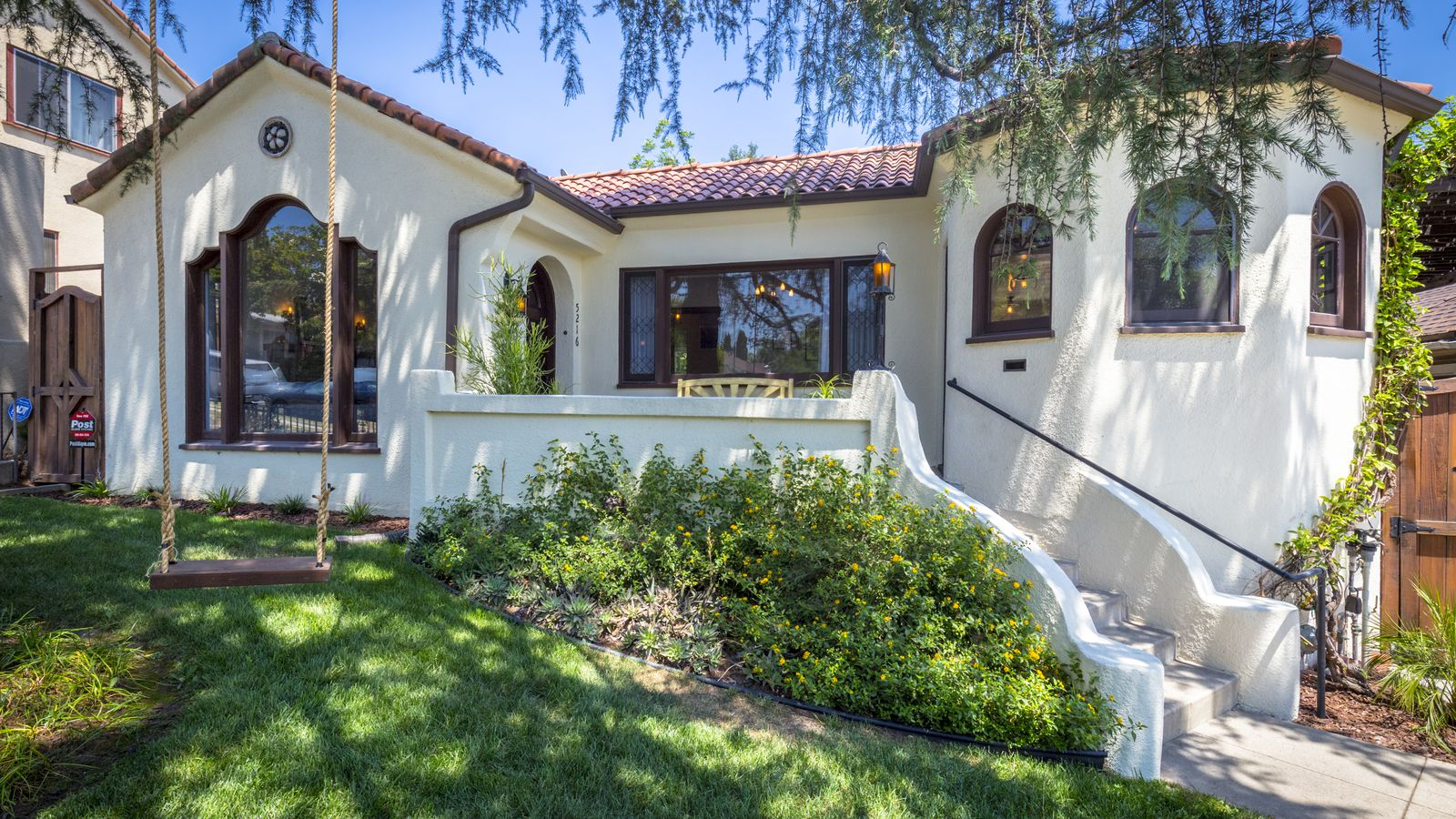 Fetching 1920s spanish style house in eagle rock asks for Old style homes built new