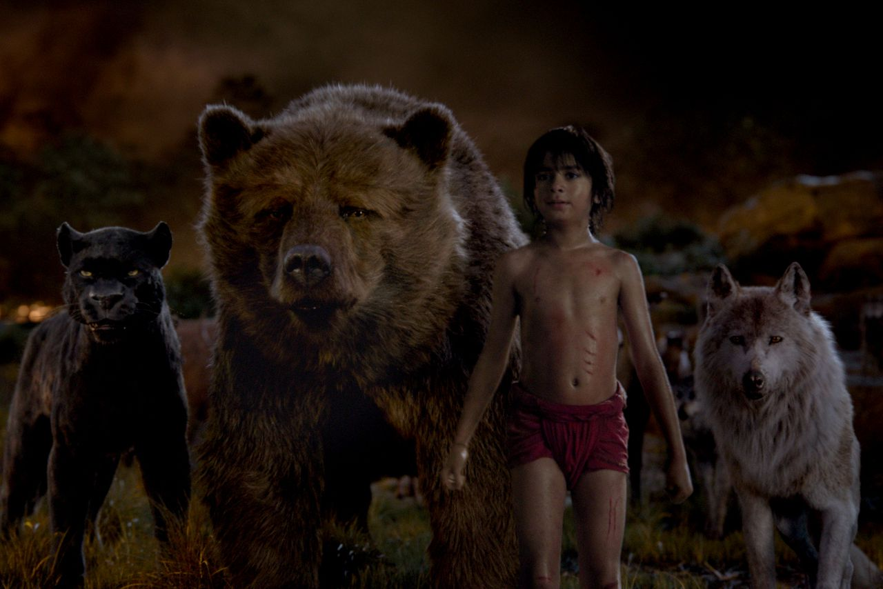 Image result for jungle book live action