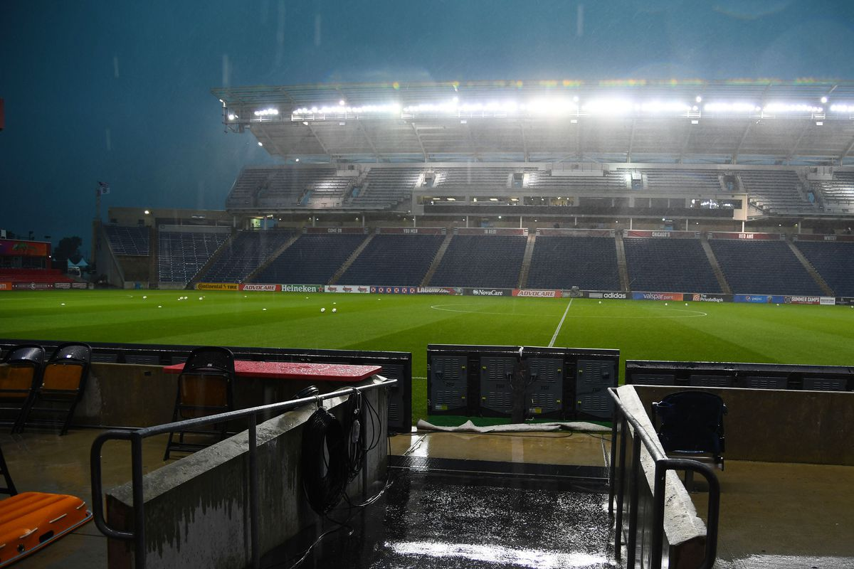 Nature may delay the game but it will not stop it!