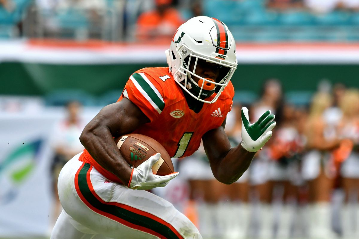 REPORT: Miami Hurricanes RB Mark Walton to declare for 2018 NFL ...