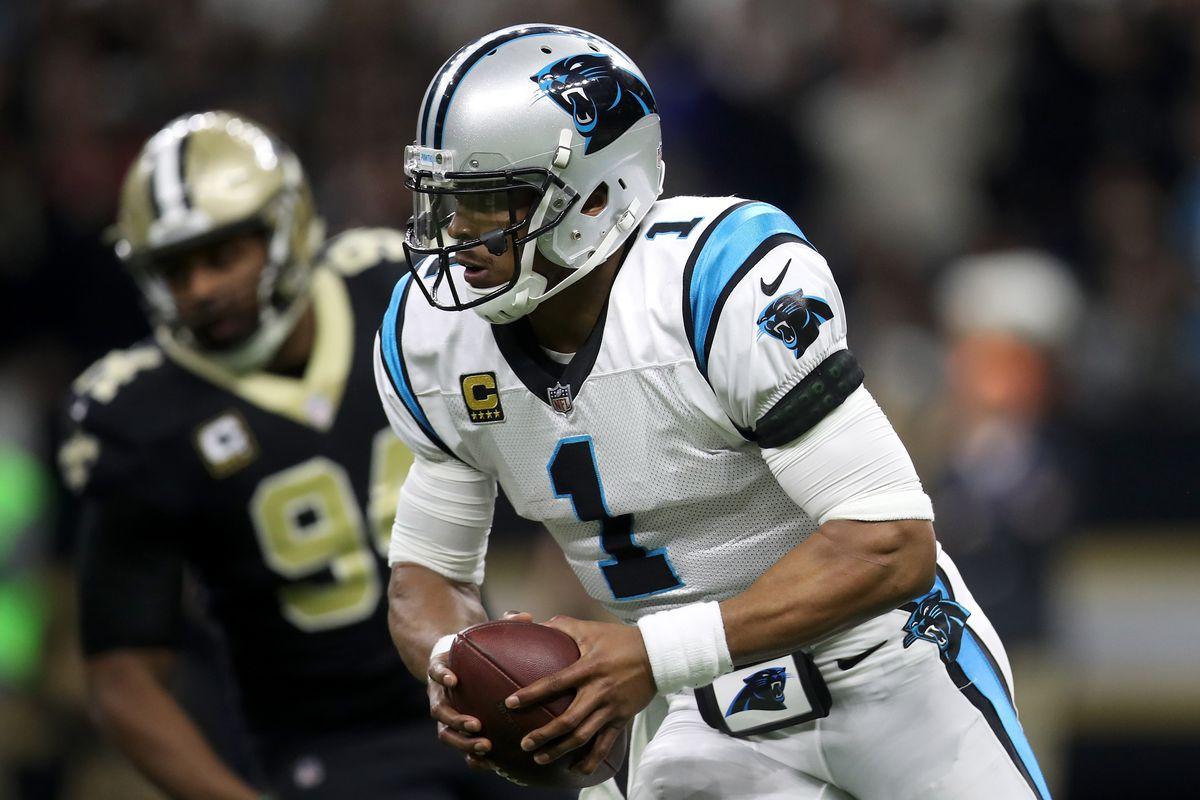 348d1be8b185 Cam Newton injury update  Panthers QB takes big hit late vs. Saints ...